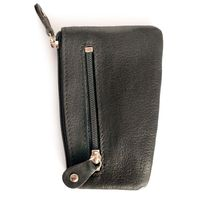 Branco – Key case / key holder made out of leather, black, model 029-2