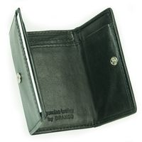 Branco – Small wallet / coin purse size XS, made out of leather, hunter's green, model 105-7