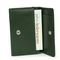 Branco – Small wallet / coin purse size XS, made out of leather, hunter's green, model 105-8