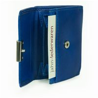 Branco – Small wallet / purse size S for women made out of leather, royal blue, model 12032-6