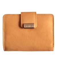 Branco – Large wallet / purse size L for women made out of leather, beige, model 12050-4