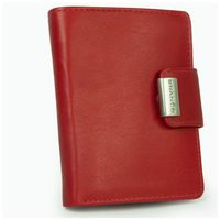 Branco – Large wallet / purse size L for women made out of leather, red, model 12050-5