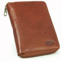 Branco - Leather Wallet, Men's Wallet, Credit Card Holder, Leather Purse, Model-12052z, Brown