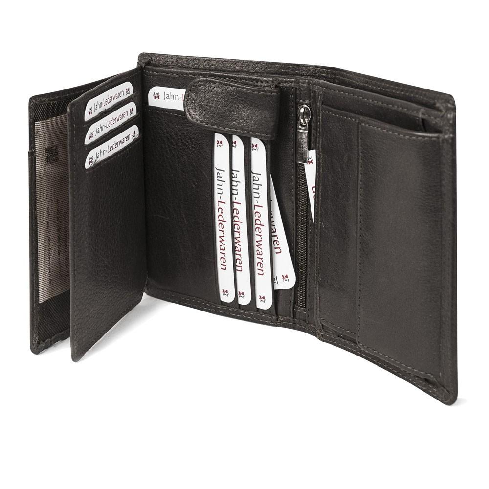6b9ecb8d1597f ... 106 - Große Geldbörse bzw. großes Portemonnaie für Herren aus Leder in  braun ...