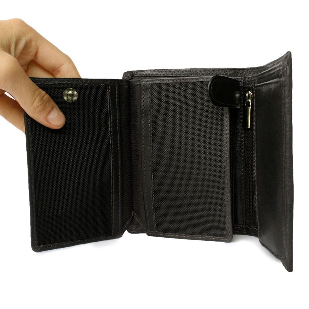 7dac5aa2acc38e ... 106 - Große Geldbörse bzw. großes Portemonnaie für Herren aus Leder in  schwarz ...