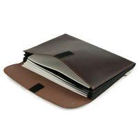 Jahn-Tasche – A4 Dokumentenmappe / Dokumententasche, aus Leder, Braun, Modell 1040