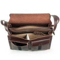 Jahn-Tasche – Große Aktentasche / Lehrertasche Größe XL  aus Leder, Braun, Modell 675
