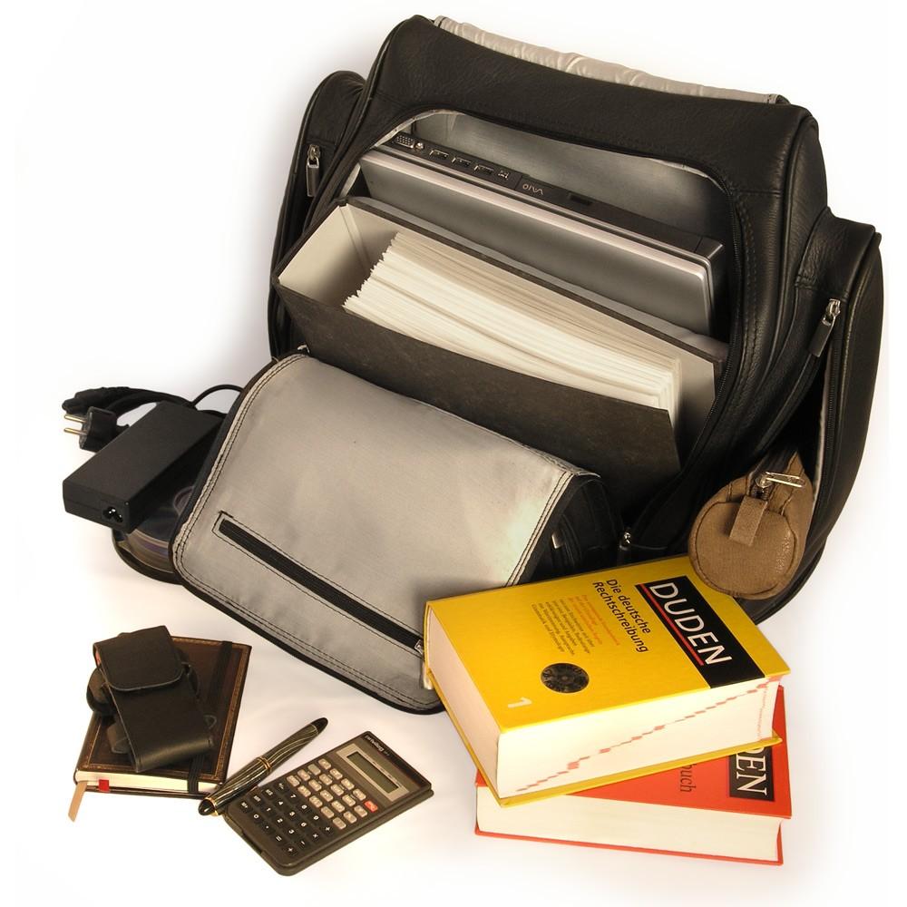 gro er rucksack laptop rucksack 709 leder schwarz. Black Bedroom Furniture Sets. Home Design Ideas