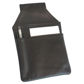 Hamosons – Professional waiter's holster / waiter's belt bag made out of Nappa leather, black, model 1009