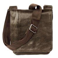 Jahn-Tasche – Kleine Umhängetasche Größe S / Handtasche aus Nappa-Leder, A5 Hochformat, Braun, Modell 418