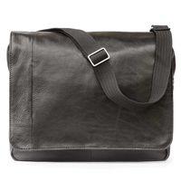 Jahn-Tasche – Elegante Laptoptasche Größe M / Notebooktasche bis 14 Zoll, aus Nappa-Leder, Schwarz, Modell 438