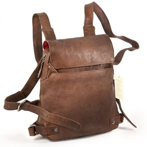 Harold's – Small Leather Rucksack / Daypack size S, Brown, Model 2230702