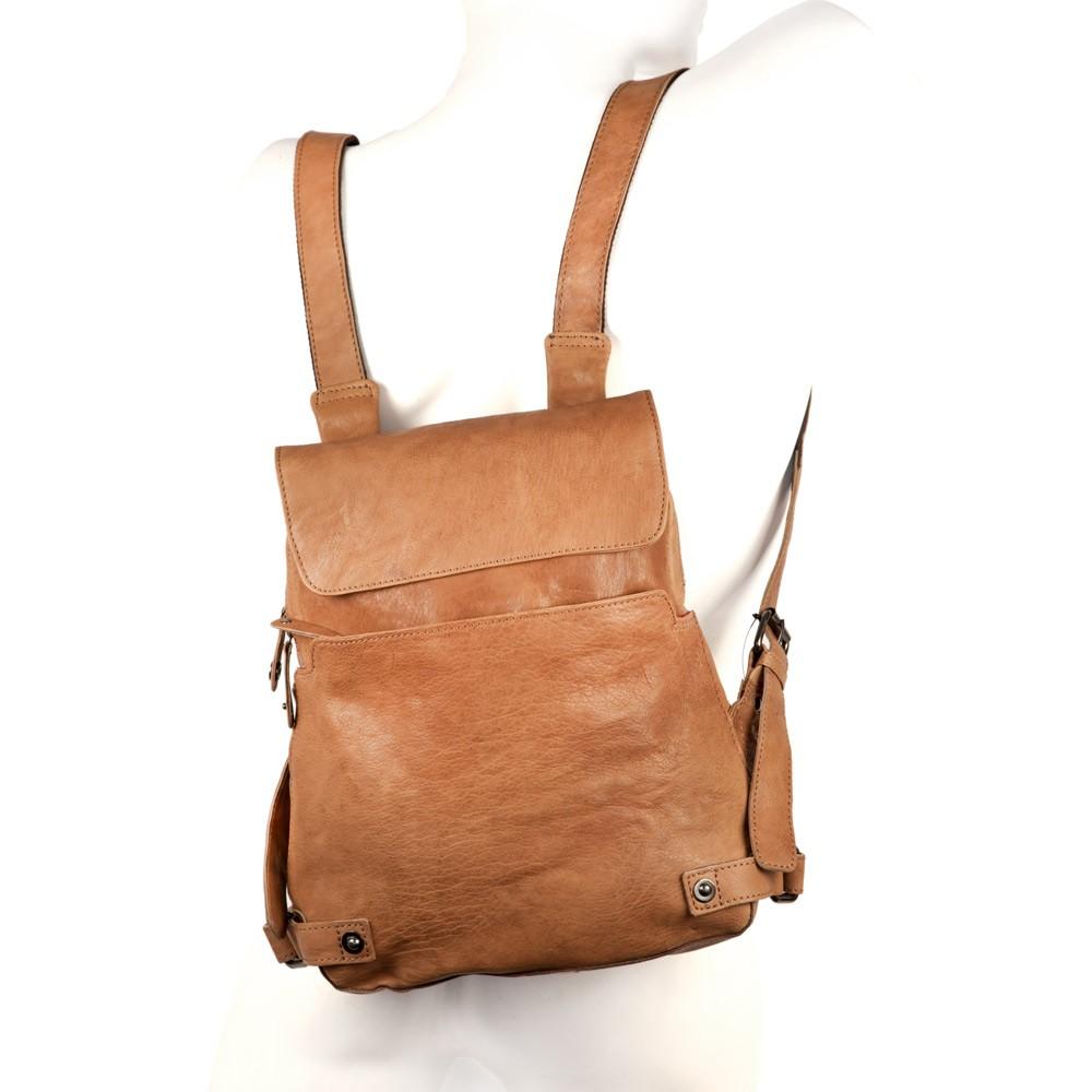 a3aeef28329c4 Handtaschen-Rucksack Leder Camel-Braun I Jahn-Lederwaren