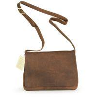 Harolds, 310303 - Kleine, naturbraune Damen Handtasche bzw. Umhängetasche, Frontansicht - 01