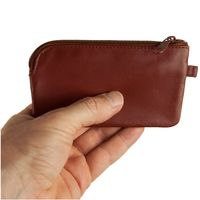 Branco – Large key case / key holder made out of leather, brown, model 018-2
