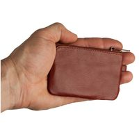 Branco – Small key case / key holder made out of leather, brown, model 019-5