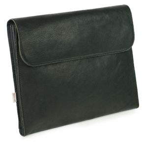 Jahn-Tasche – A4 document case / document holder made out of leather, black, model 1040