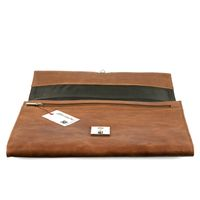 Jahn-Tasche – A4 briefcase / document case, made out of leather, cognac brown model 1022-CW