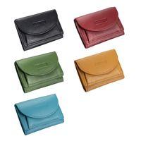 Branco, 31105 - Kleine Geldbörse bzw. Mini Portemonnaie in hellem Farn-Grün, alle Farbvarianten nebeneinander - 05