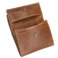 Branco – Small wallet / purse size S made for women made out of leather, cognac brown, model 35250-3