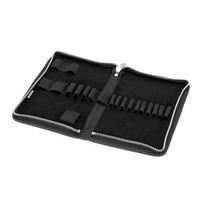 Jahn-Tasche, 422  – Robuste schwarze Aktentasche bzw. Lehrertasche, passendes großes Stifteetui geöffnet ohne Inhalt - 15