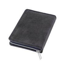 Jahn-Tasche, 422  – Robuste blau-schwarze Aktentasche bzw. Lehrertasche, passendes großes Stifteetui geschlossen - 08
