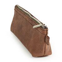 Jahn-Tasche, 422  – Robuste braune Aktentasche bzw. Lehrertasche, passendes Schlampermäppchen geschlossen - 08